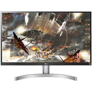 "Monitor LED IPS LG 27UK600-W, 27"", 4K UHD, HDR 10, alb"