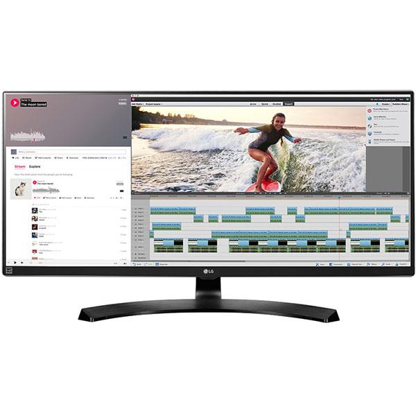 """Monitor LED Gaming IPS LG 34UM88C-P, 34"""", UltraWide QHD, negru"""