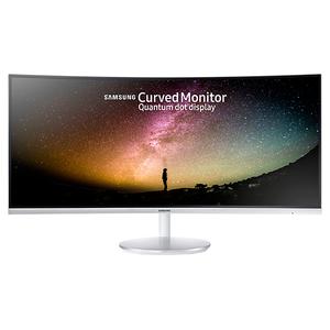 "Monitor curbat LED VA SAMSUNG LC34F791WQUXEN, 34"", UltraWide QHD, 100Hz, Flicker Free, alb"