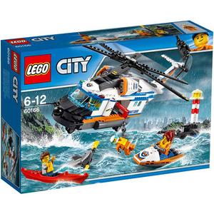 LEGO City: Elicopter de salvare pentru conditii grele, 60166