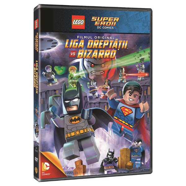 LEGO: Liga Dreptatii vs. Bizarro DVD