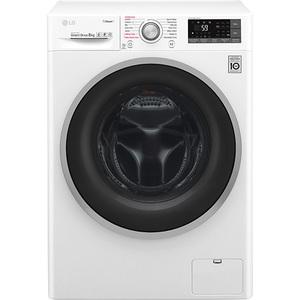 Masina de spalat rufe frontala LG F4J7TY1W, Wi-Fi, 8kg, 1400rpm, A+++, alb