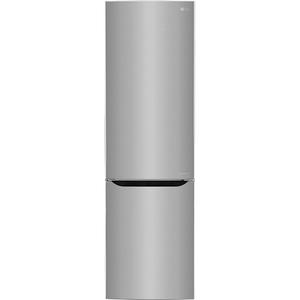 Combina frigorifica NoFrost LG GBP20PZCZS, 343 l, 201 cm, A++, argintiu