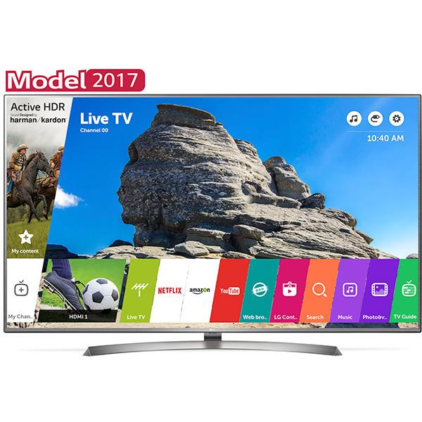 Televizor LED Smart Ultra HD, webOS 3.5, 139cm, LG 55UJ701V