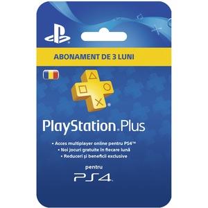 PlayStation Plus Membership (90 zile) RO PS4