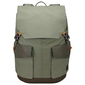 "Rucsac laptop CASELOGIC LODP-115-PETROLGREEN-DRAB, 15.6"", petrol"