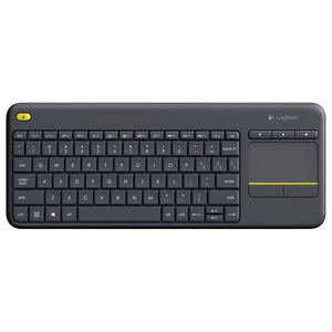 Tastatura Wireless LOGITECH Touch K400 Plus TV, USB, Layout US INT, negru