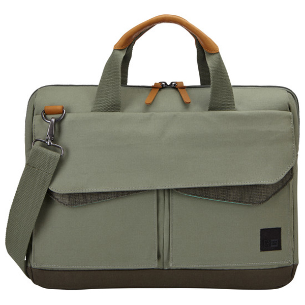"Geanta laptop CASE LOGIC LODA-115-PETROLGREEN-DRAB, 15.6"", petrol"