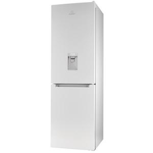 Combina frigorifica INDESIT LR8 S1 W AQ, 335 l, 188.8 cm, A+, alb
