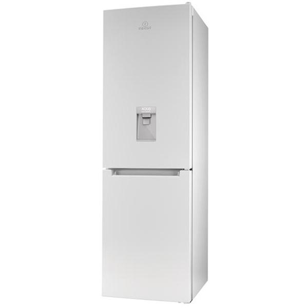 Combina frigorifica INDESIT LR8 S1 W AQ, Low Frost 336 l, H 188.8 cm, Clasa A+, alb