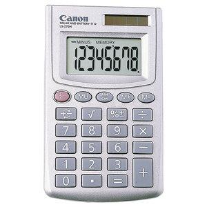 Calculator de birou CANON LS-270H, 8 cifre, argintiu