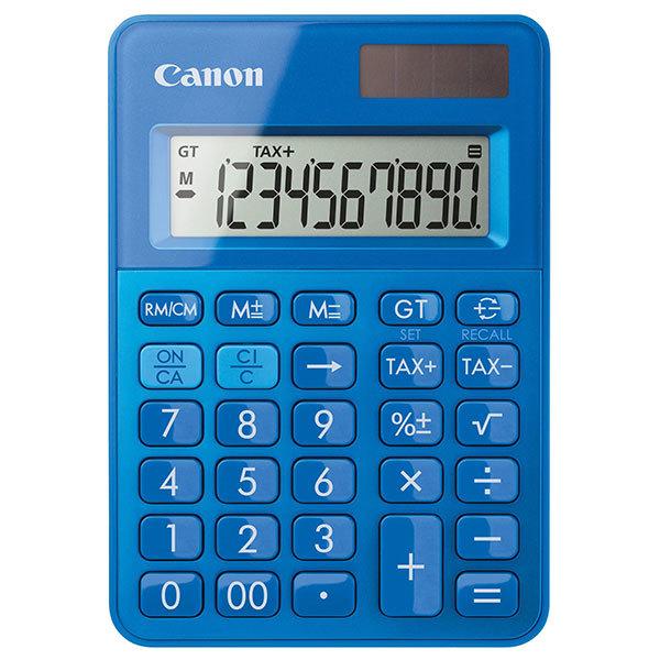 calculator de birou canon ls 100k 10 cifre albastru. Black Bedroom Furniture Sets. Home Design Ideas