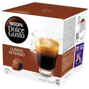 Capsule cafea NESCAFE Dolce Gusto Lungo Intenso, 16 capsule, 144g