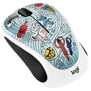 Mouse Wireless LOGITECH M238, 1000 dpi, multicolor