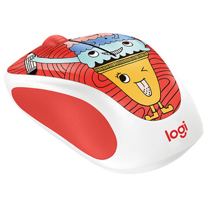 Mouse Wireless LOGITECH M238, 1000 dpi, multicolor
