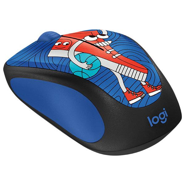 Mouse Wireless LOGITECH M238, 1000 dpi, Sneaker Head