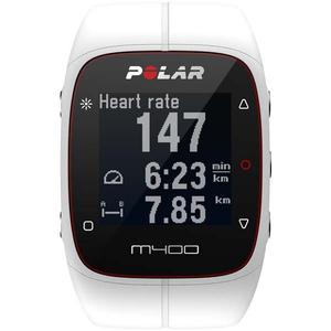 Smartwatch POLAR M400, Android/iOS, silicon, White