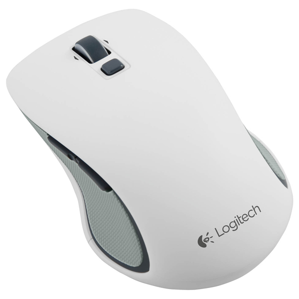 Mouse Wireless LOGITECH M560, 1000 dpi, alb