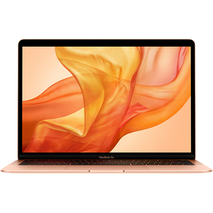 "Laptop APPLE MacBook Air 13 mvfm2ro/a, Intel Core i5 pana la 3.6GHz, 13.3"" IPS Retina, 8GB, SSD 128GB, Intel UHD Graphics 617, macOS Mojave, Gold - Tastatura layout RO"