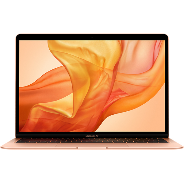 "Laptop APPLE MacBook Air 13 mvfm2ze/a, Intel Core i5 pana la 3.6GHz, 13.3"" IPS Retina, 8GB, SSD 128GB, Intel UHD Graphics 617, macOS Mojave, Gold - Tastatura layout INT"
