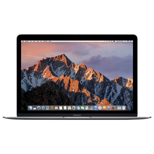 "Laptop APPLE MacBook 12"" Retina Display mnyf2ro/a, Intel® Core™ m3 pana la 3.0GHz, 8GB, 256GB, Intel HD Graphics 615, macOS Sierra, Space Gray - Tastatura layout RO"