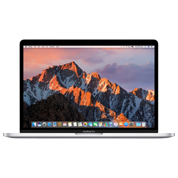 "Laptop APPLE MacBook Pro 13"" Retina Display mpxr2ze/a, Intel® Core™ i5 pana la 3.6GHz, 8GB, 128GB, Intel Iris Plus Graphics 640, macOS Sierra, Argintiu - Tastatura layout INT"