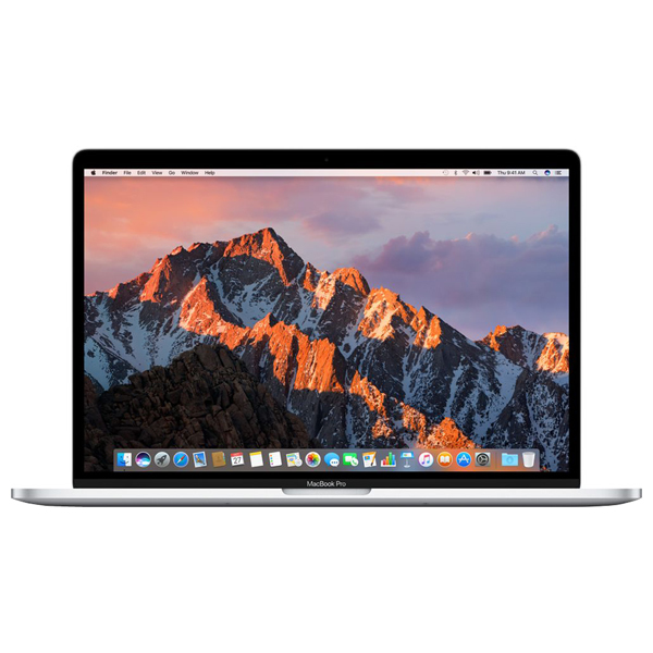"""Laptop APPLE MacBook Pro 15"""" Retina Display si Touch Bar mptu2ze/a, Intel® Core™ i7 pana la 3.8GHz, 16GB, 256GB, AMD Radeon Pro 555 2GB, macOS Sierra, Argintiu - Tastatura layout INT"""