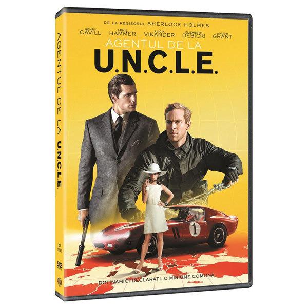 Agentul de la U.N.C.L.E DVD