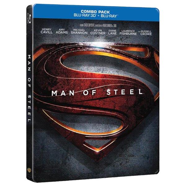 Man of Steel - Eroul Blu-Ray 2D / 3D FuturePack