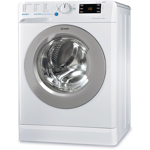 Masina de spalat rufe INDESIT BWE 71253X WSSS EU, 7Kg, 1200rpm, A+++, alb