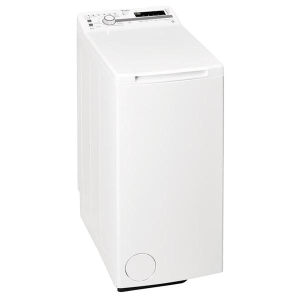 Masina de spalat rufe verticala WHIRLPOOL TDLR 60112, 6th sense, 6kg, 1000rpm, Clasa A+++, alb