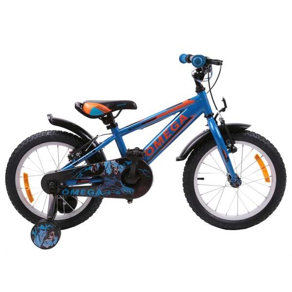 "Bicicleta copii Omega Master 2018, 20"", albastru"
