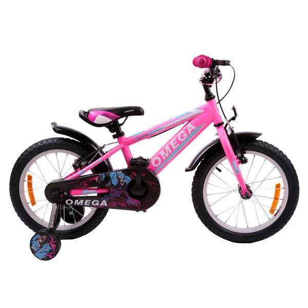 "Bicicleta copii Omega Master 2018, 16"", roz"