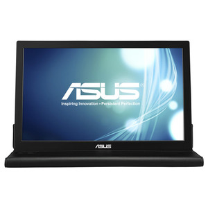 "Monitor LED TN ASUS MB168B, 15.6"", HD, argintiu-negru"