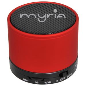 Boxa portabila MYRIA MY9058RD / MDC-0601RD, Bluetooth 3.0, 3W, rosu