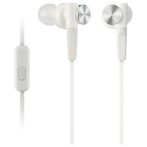 Casti SONY MDR-XB50APW, Cu Fir, In-Ear, Microfon, alb