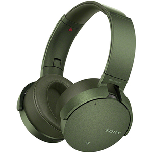 Casti SONY MDR-XB950N1G, Bluetooth, NFC, On-Ear, Microfon, Noise Cancelling, Extra BASS, verde