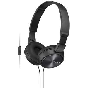Casti SONY MDR-ZX310APB, Cu Fir, On-Ear, Microfon, negru