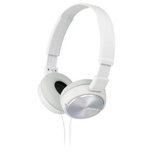 Casti on-ear SONY MDR-ZX310W, Alb