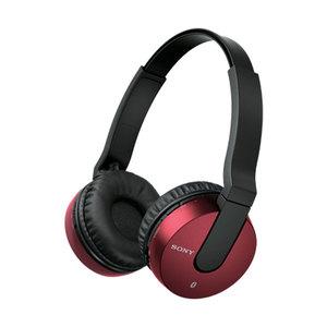 Casti Bluetooth SONY MDR-ZX550BNR, Rosu