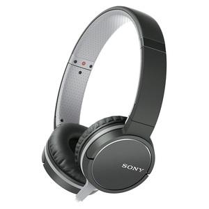 Casti SONY MDR-ZX660APB, microfon, on ear, cu fir, negru