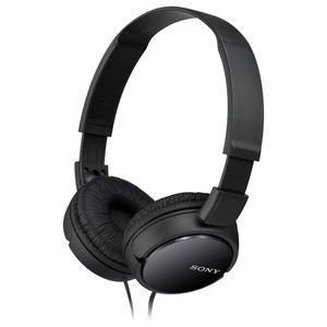 Casti SONY MDR-ZX110B, Cu Fir, On-Ear, negru