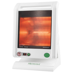 Lampa cu infrarosu MEDISANA IR885, temporizator, alb