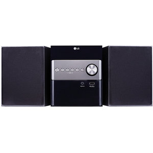 Microsistem audio LG XBOOM CM1560, Bluetooth, CD, USB, FM, negru