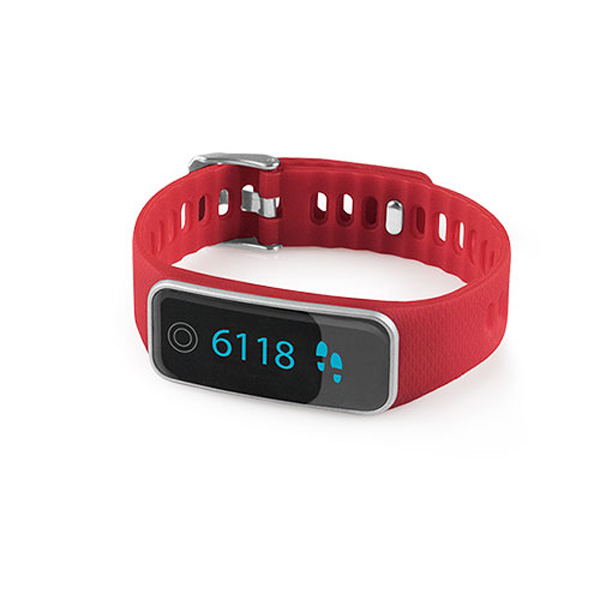 ViFit touch Activity Tracker MEDISANA 79487, compatibilitate iOS si Android, rosu