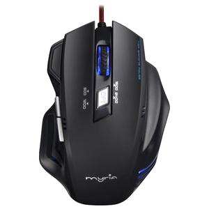 Mouse Gaming MYRIA MG7501, 2400 dpi, negru