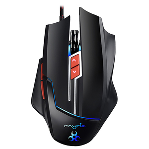 Mouse gaming MYRIA MG7505, 8200 dpi, negru