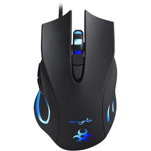 Mouse gaming MYRIA MG7506, 2500 dpi, negru