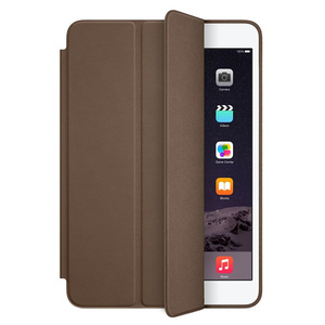 Smart Case iPad mini 3 Apple mgmn2zm/a, piele, Olive Brown