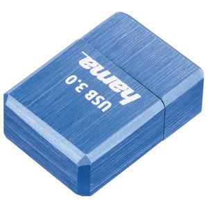 Memorie portabila HAMA Micro Cube 123928, 128GB, USB 3.0, albastru